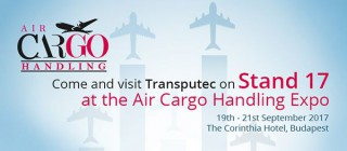 Visit Transputec at this year's Air Cargo Handling Conference